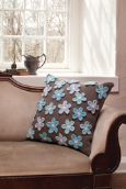 Forget-Me-Not Pillow Project
